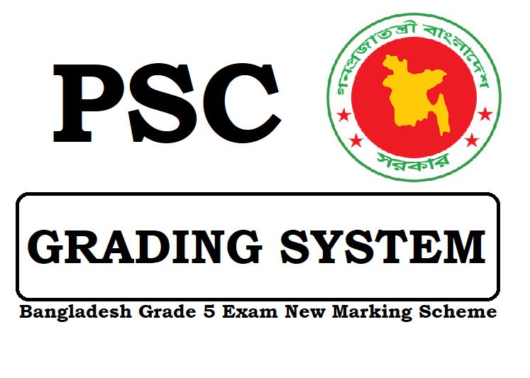 PSC Grading System 2019 New Marking Scheme All Education Board