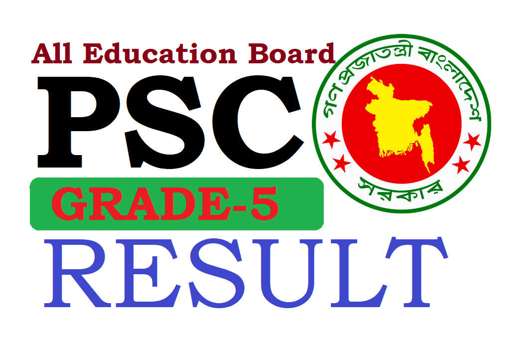 PSC Result 2019 All Education Board Bangladesh